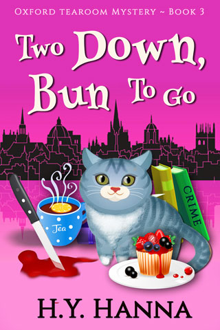 Two Down, Bun To Go - Oxford Tearoom Mysteries Book 3 (culinary cozy mystery for cat lovers and British mystery fans)