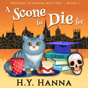 A Scone To Die For - Audiobook Cover