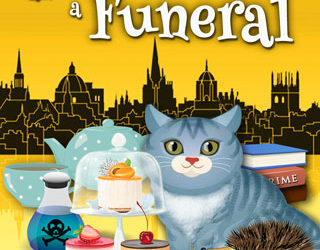 """Behind-the-Scenes: The Making-Of """"Four Puddings and a Funeral"""" Book Cover"""
