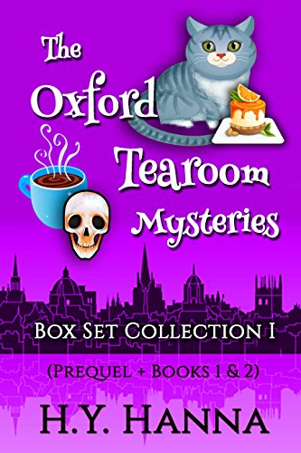 Oxford Tearoom Mysteries Box Set Collection - (Prequel + Books 1 & 2)